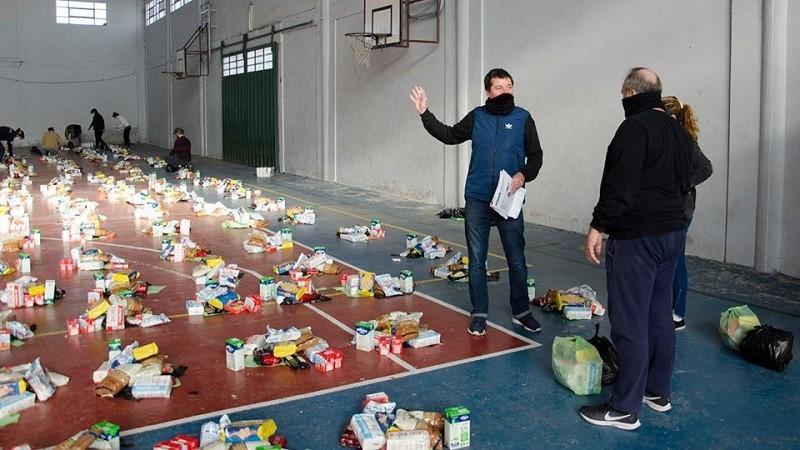 SAE: se repartieron 50.000 bolsones de alimentos