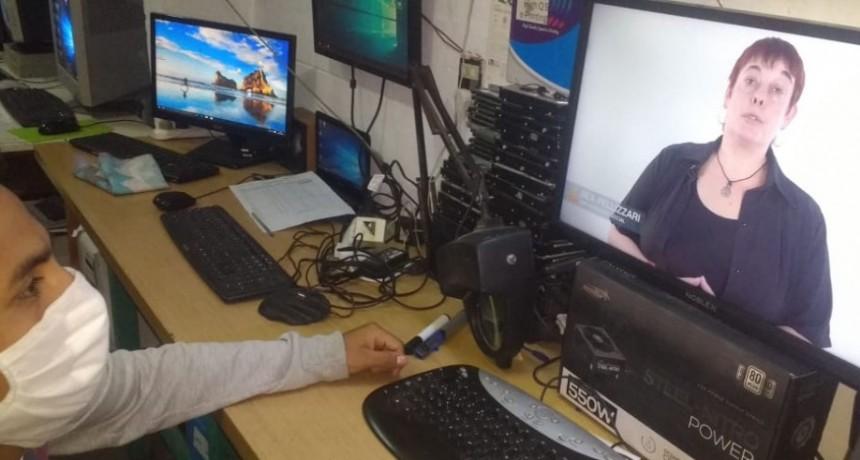 Implementan capacitaciones virtuales para personas privadas de libertad en cárceles y en sus domicilios