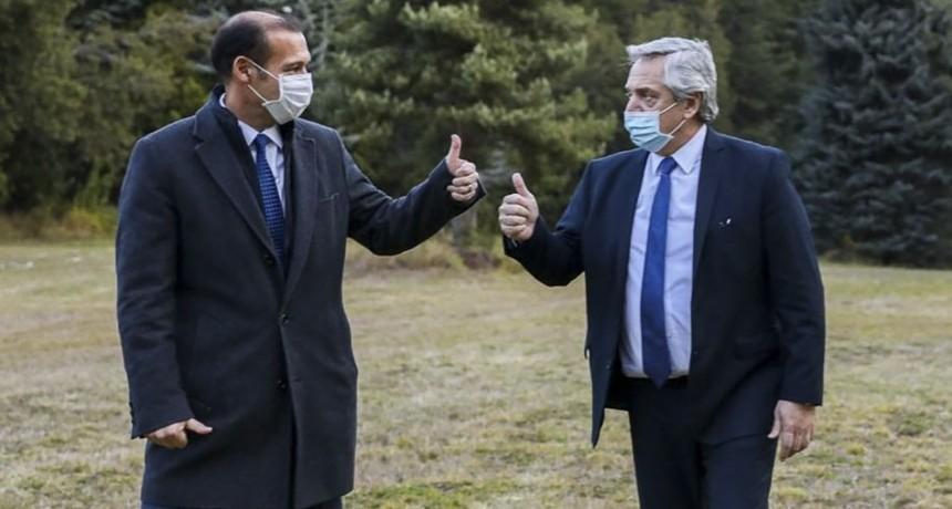 El Presidente ya se encuentra en Villa la Angostura