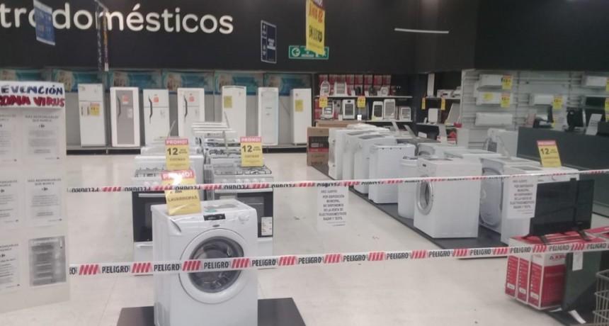 Municipio pidió que no se vendan artículos no esenciales en los supermercados