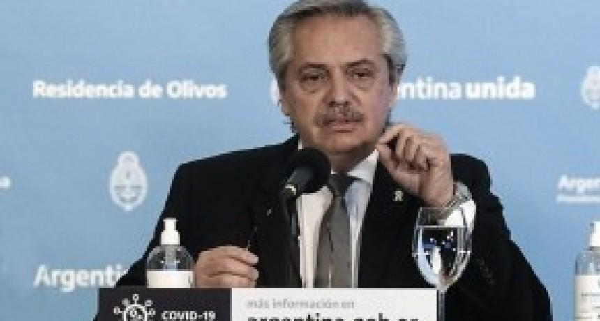 Fernández, ante el aumento de contagios: