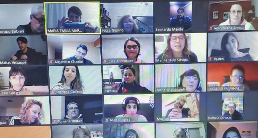 Comenzaron encuentros virtuales para emprendedores