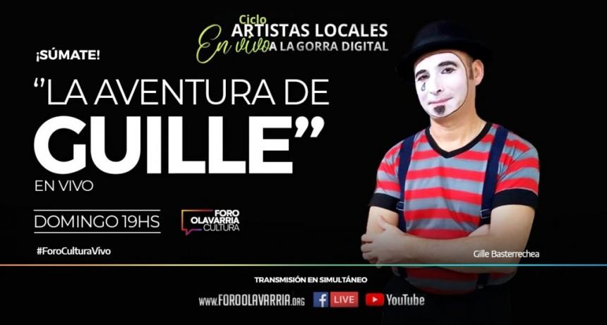 """Sigue el ciclo """"Artistas locales a la Gorra Digital"""" con """"La aventura de Guille"""""""