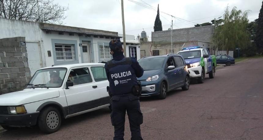 Fueron 17 los infractores del aislamiento hallados por la policía