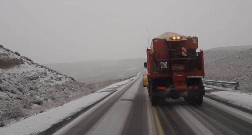 Viales  ya  llevan  a  cabo el  operativo  invernal
