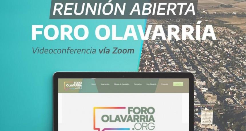 El martes se reúne el Foro Olavarría con invitación abierta a todos los interesados