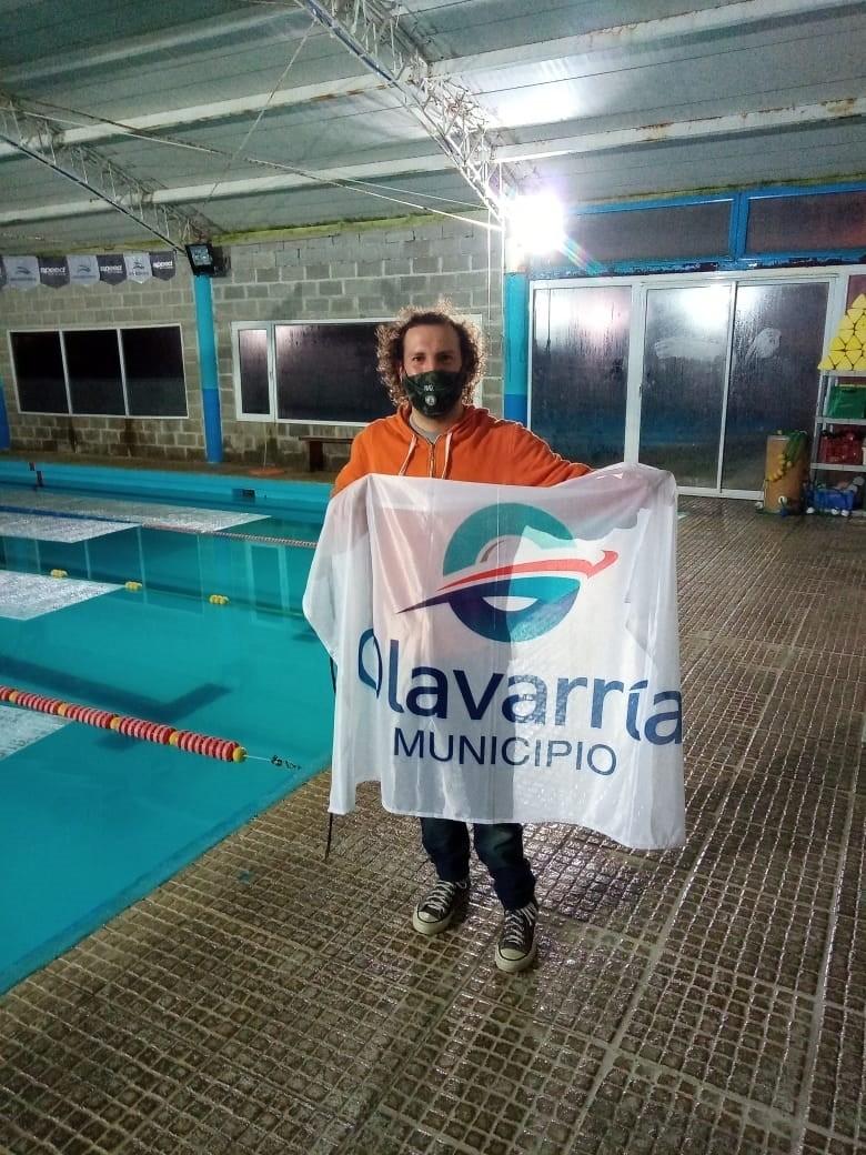 Natación: Lucas Otermín en el COPAR 2021