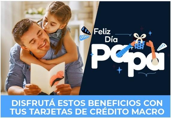 Banco Macro con beneficios para el Día del Padre