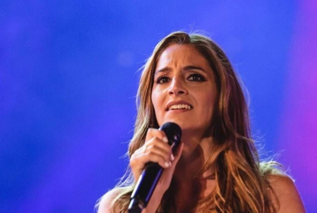 Natalia Pastorutti presentó su nuevo tema en Radio Olavarría