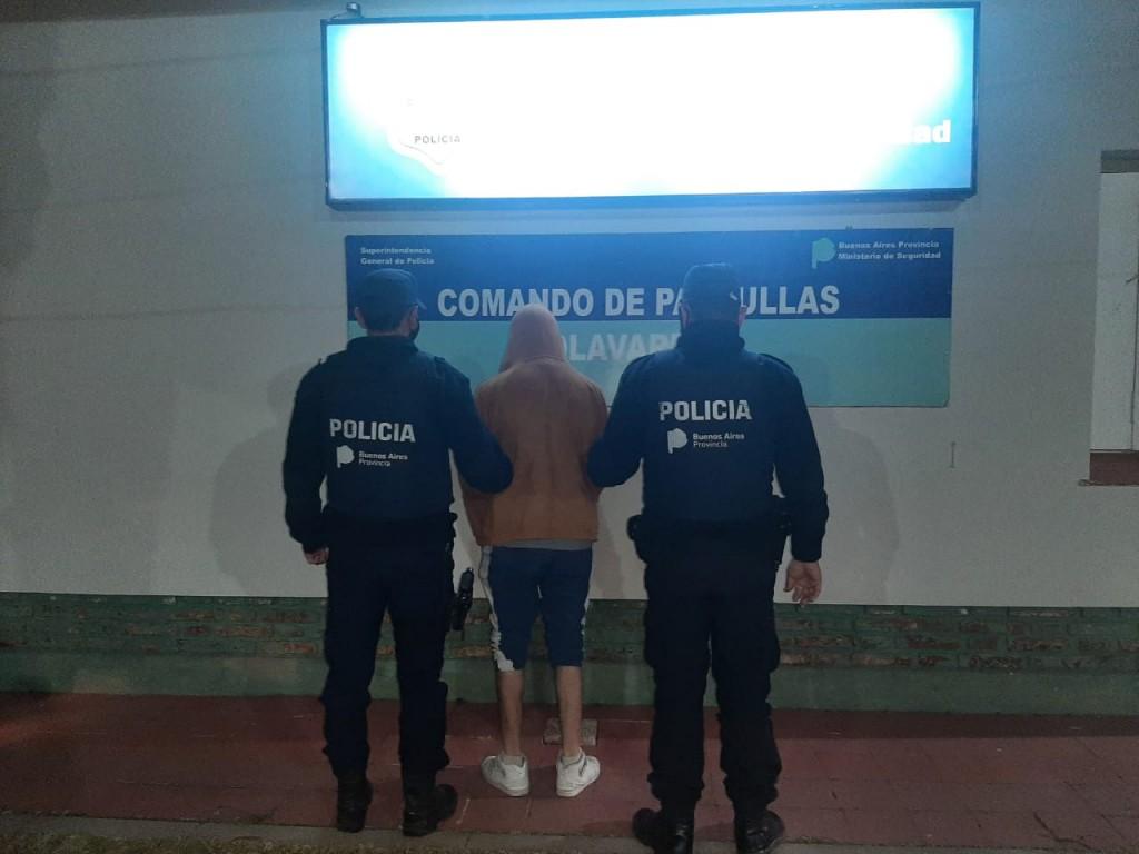 Chocó un patrullero cuando intentaba escapar de la policía