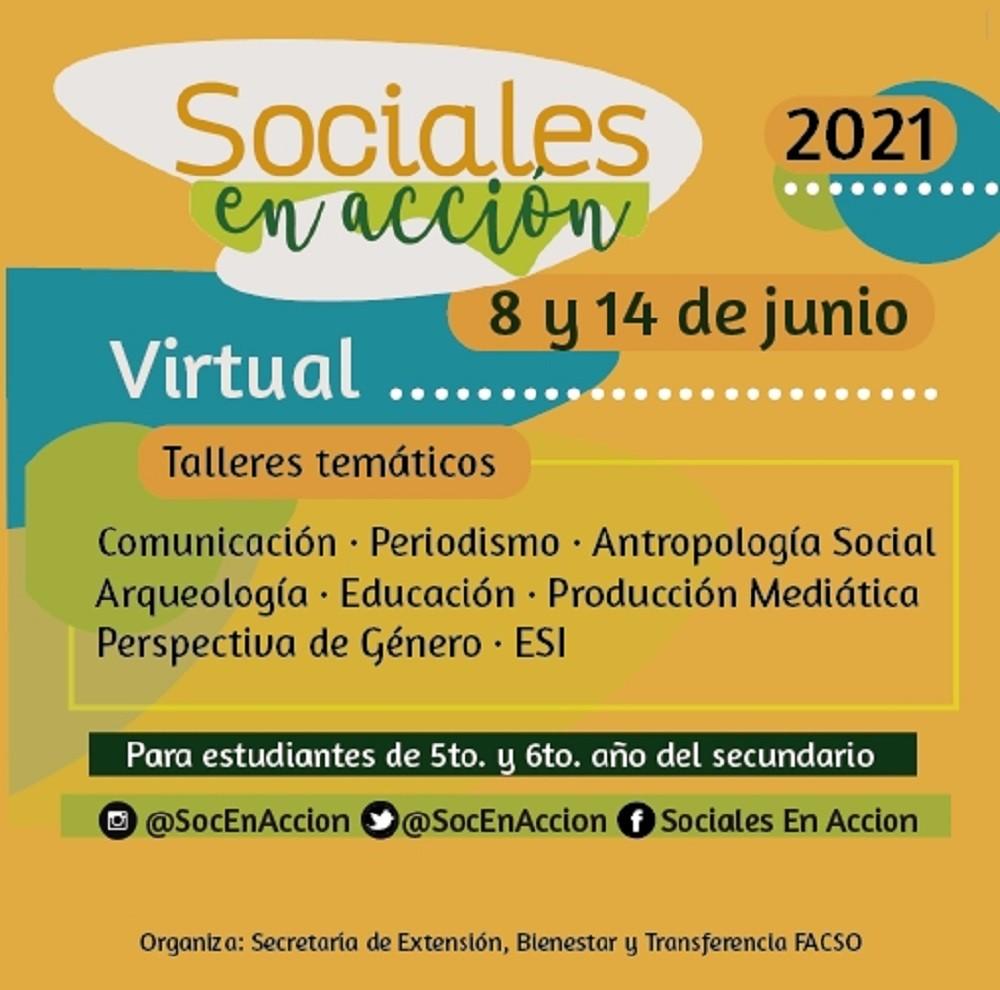 Con la participación de estudiantes de Olavarría y la región comenzó Sociales en Acción