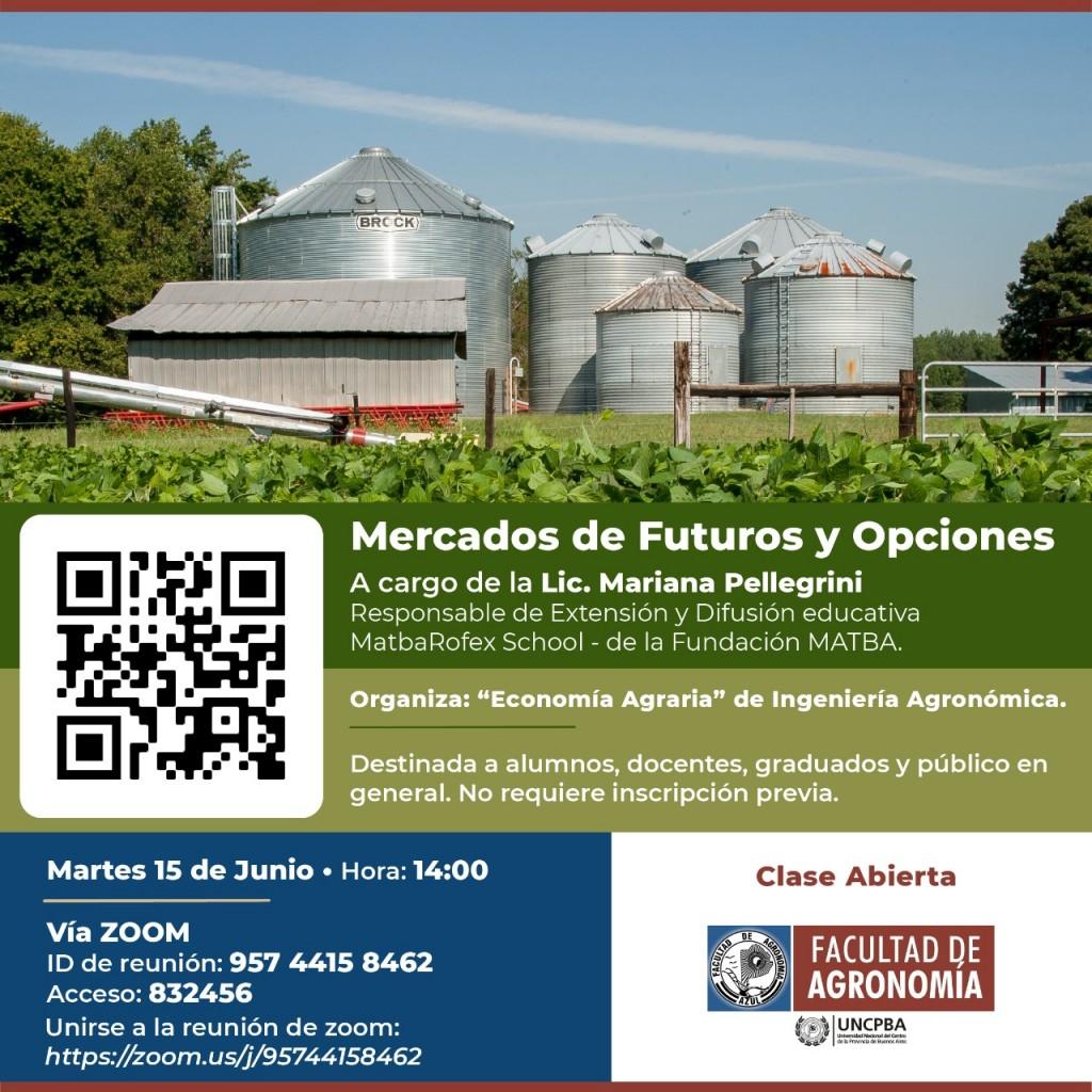 """Clase Abierta: """"Mercados de Futuros y Opciones"""""""