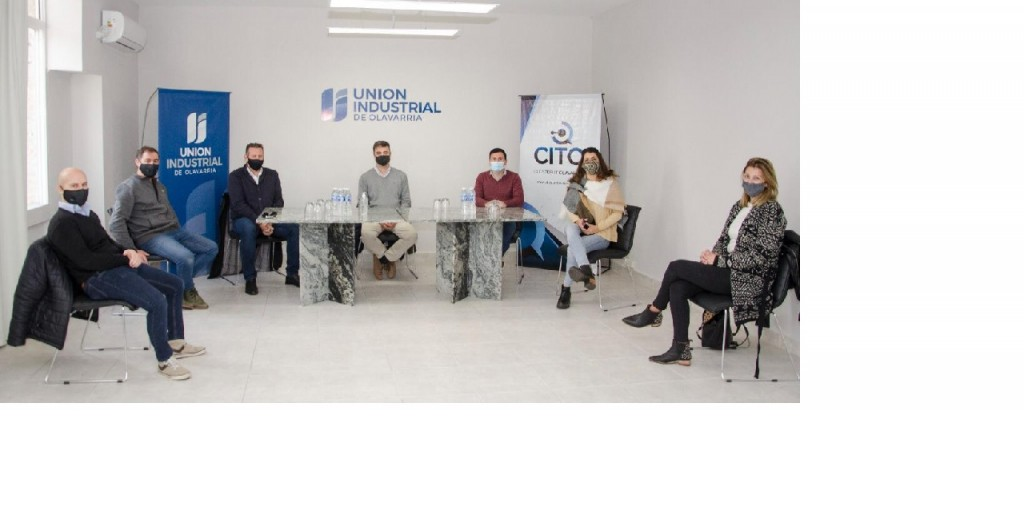 Aguilera mantuvo una reunión con el Director Regional del Ministerio de Trabajo de Nación e integrantes de la Unión Industrial