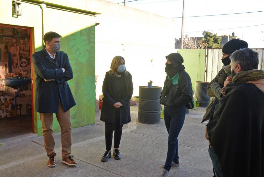 El intendente Galli visitó Chamula, Tierra de las Artes