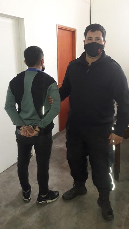 Quedó retenido por 'hurto en grado de tentativa' el delincuente perseguido en la zona céntrica