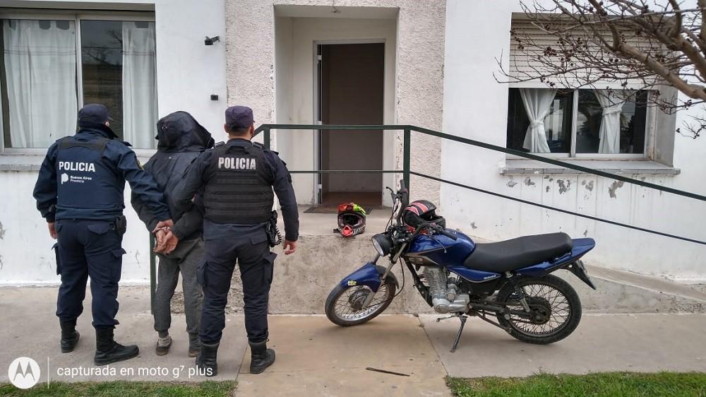 Recuperan un ciclomotor con pedido de secuestro