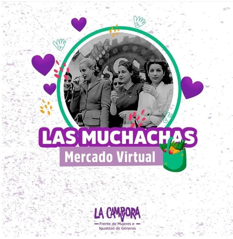 Nueva edición del mercado virtual 'Las Muchachas'