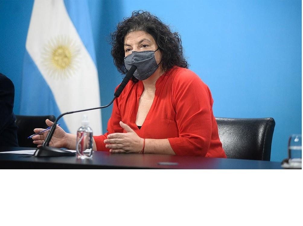 'Ninguna dosis de ninguna vacuna vence', afirmó la ministra Vizzotti
