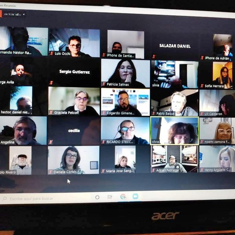 Periodistas de todo el país homenajearon al 'Tano' Di Sandro