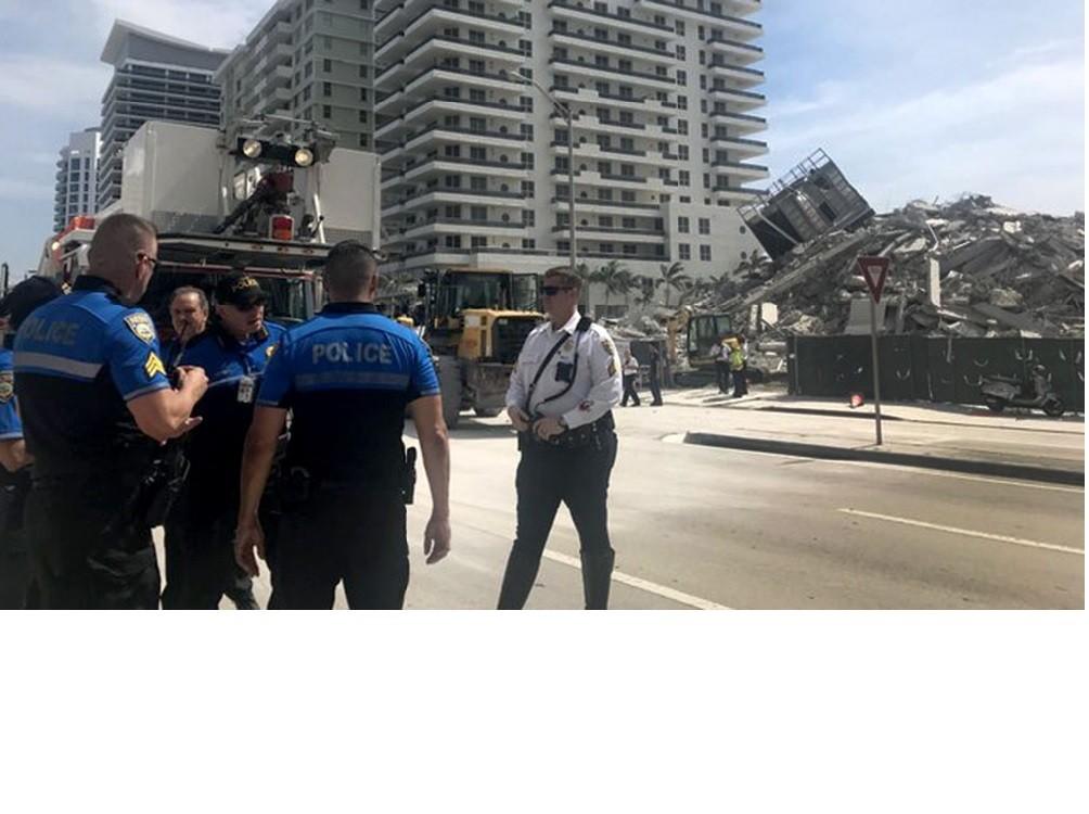Hallaron con vida a uno de los argentinos y quedan nueve desaparecidos por el derrumbe de  unedificio en Miami
