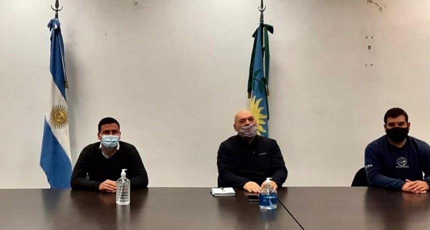 Aguilera anunció la apertura de un curso de formación profesional para trabajadores mineros