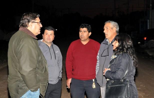Importante inversión en obras para el barrio Coronel Dorrego
