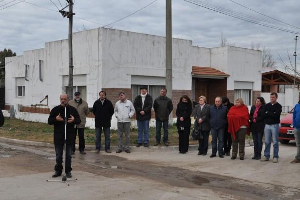 La Madrid: Se extendió la Red de Gas en el Barrio Chino