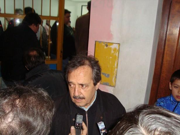 Alfonsín y Armendáriz hablaron de Boudou y los Holdout