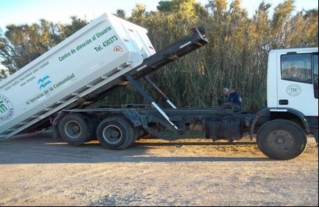 Nueva batea para disposición de residuos en Sierras Bayas