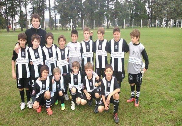 Torneo de fútbol infantil en Estudiantes