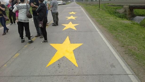 Cada estrella amarilla es generar conciencia