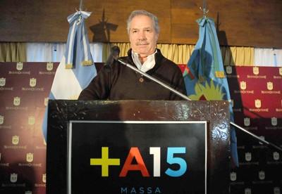 Se lanzó Solá como precandidato a Gobernador en el Frente Renovador