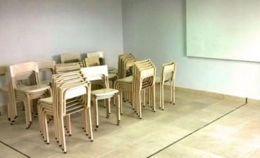 Llegó el mobiliario para la inauguración de la secundaria nº 21