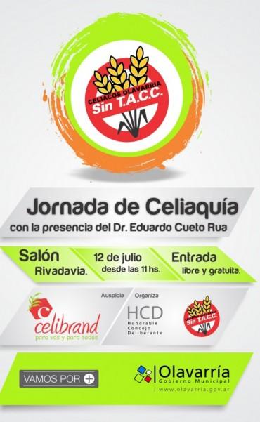 Jornadas de Celiaquía con la presencia del Dr. Cueto Rua