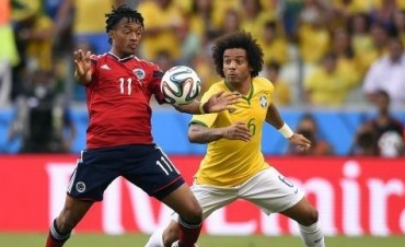 Brasil le ganó con angustia a Colombia