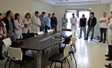 Cinco  nuevos residentes médicos en el Hospital