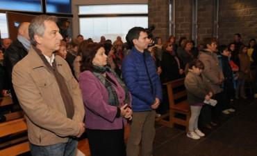 Eseverri y  Alicia Tabarés inauguraron de la Capilla del Bicentenario