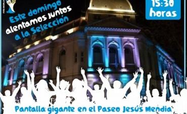 Viví la final de Argentina en el Paseo Jesús Mendía