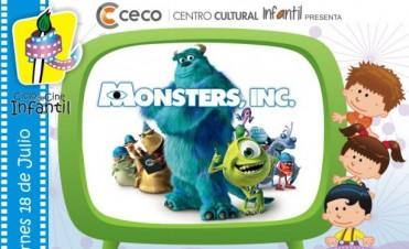 Cine en el Centro Cultural Infantil de mercantiles