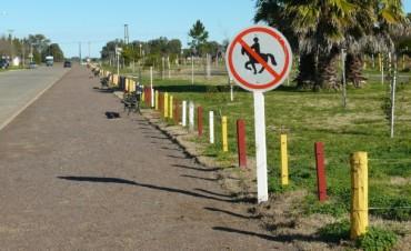 Alvear: se colocaron carteles en el Parque Botánico