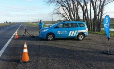 Corredor de Tránsito: 700 infracciones por exceso de velocidad