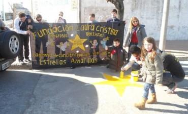 Estrellas Amarillas: repintaron este sábado