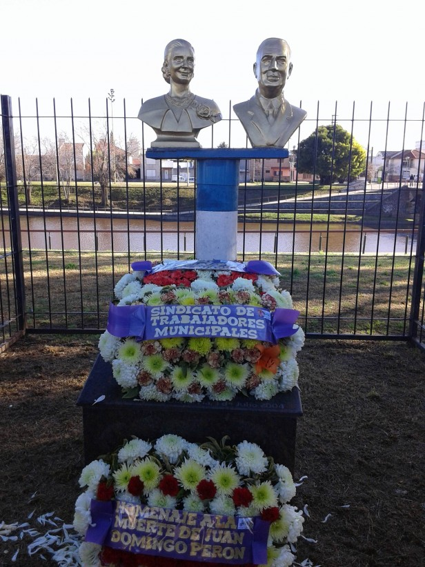 Recordaron a Perón en el 41º de su fallecimiento