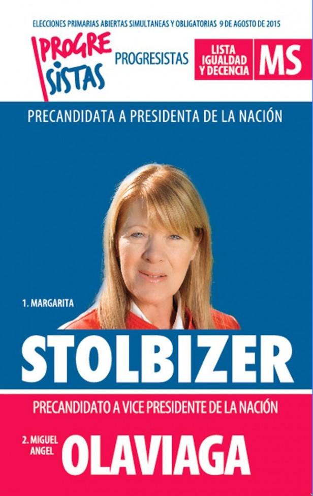 Llega a Olavarría la pre candidata a presidente Margarita Stolbizer