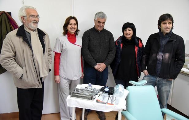 El Hospital de Sierras Bayas recibió donaciones de parte de Rotary