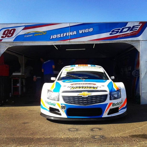 Josefina Vigo finalizó 12° en la Primera Final del Top Race Series