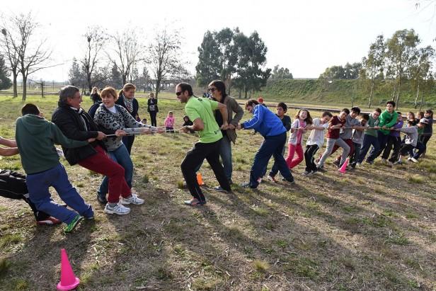 Hubo jornada de intervención en el Parque Izaguirre