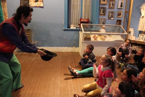 Funciones de títeres en los Museos de los Pueblos