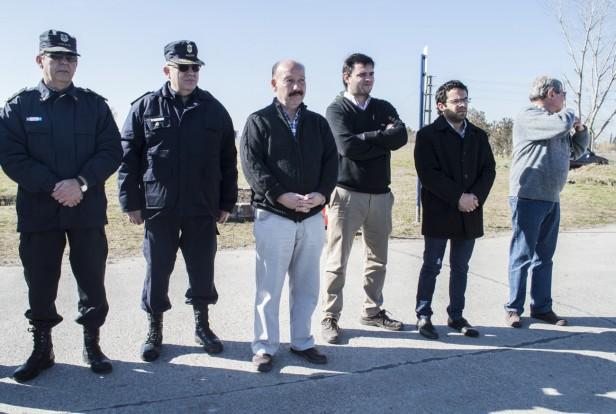El Comisario Latapié, al frente del Comando de Prevención Comunitario en Azul