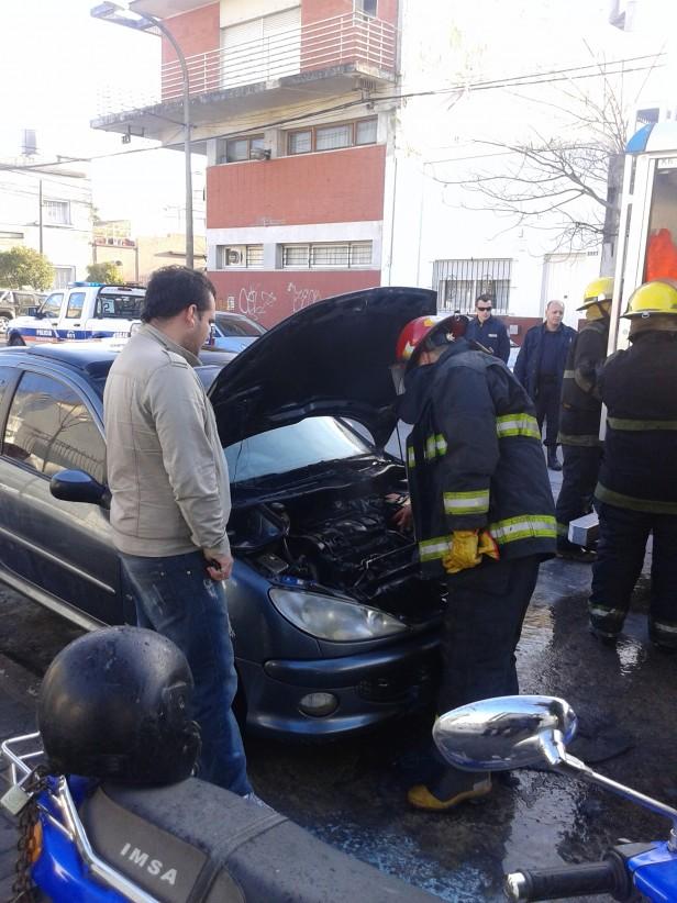 Incendio de vehículo